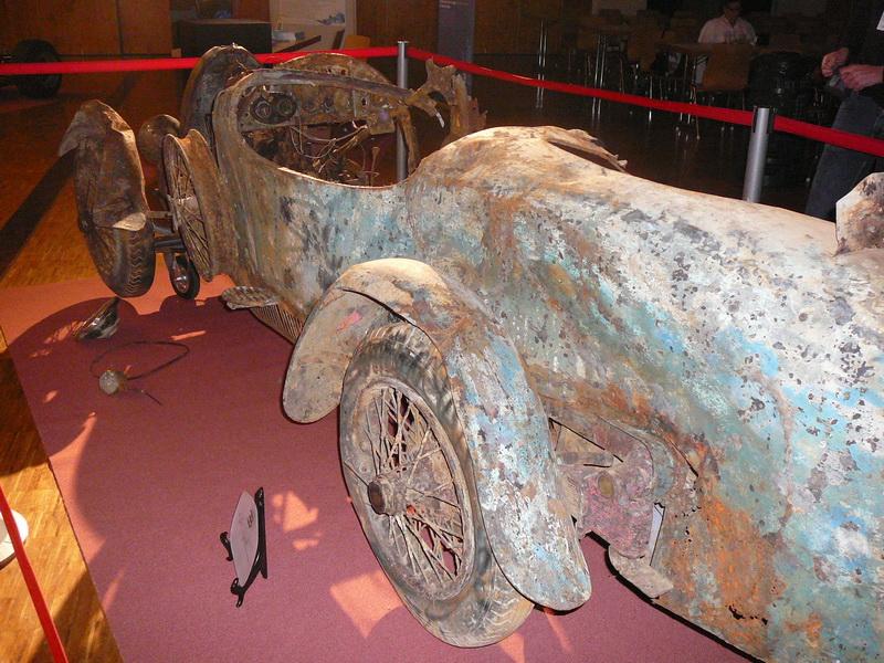 Bugatti aus dem Lago Maggiore