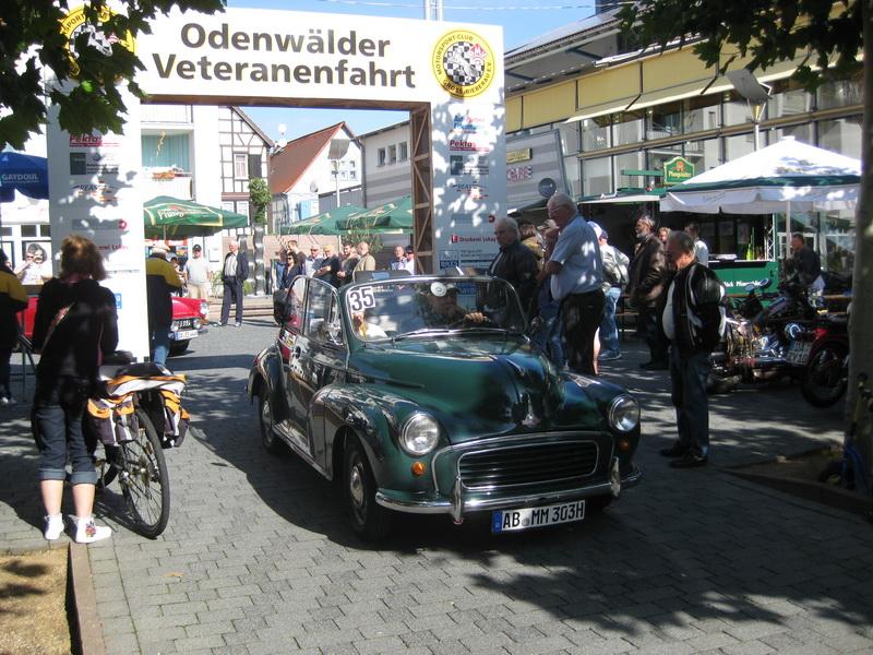 Odenwälder Veteranenfahrt MSC Groß Bieberau 28.08.2011