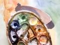 Oldtimer Aquarelle/Aquarelief