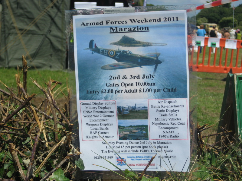 Armed Forces Weekend Marazion
