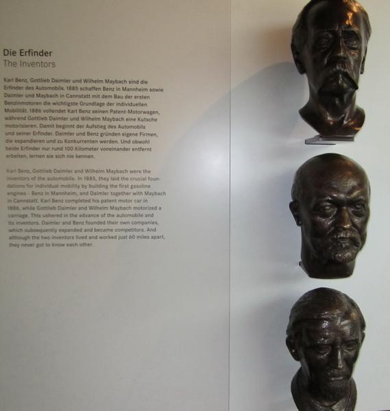 Karl Benz, Gottlieb Daimler, Wilhelm Maybach