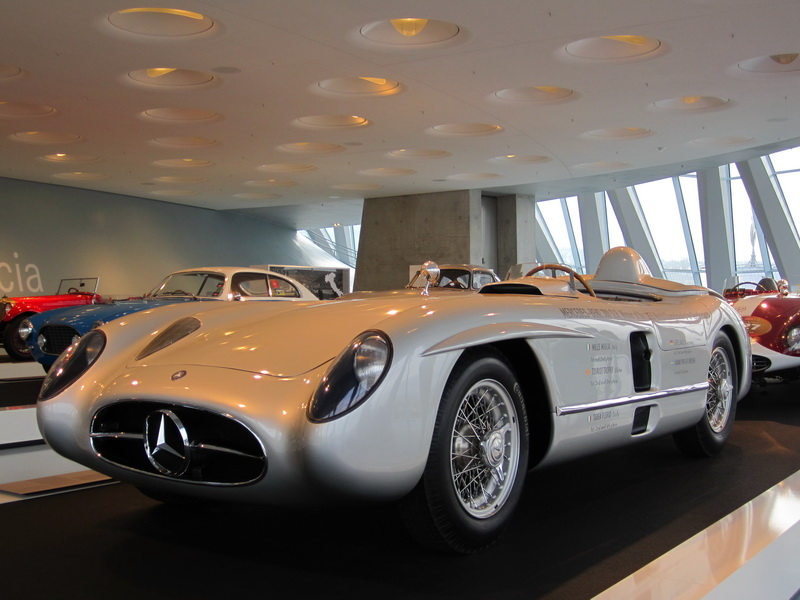Alles Mille Miglia oder soo! Mercedes-Benz SLR 300, Baujahr 1955