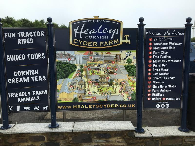 Healey`s Cornish  Cider Farm