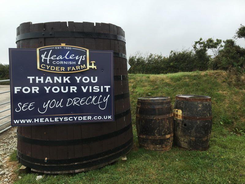Healey`s Cornish  Cider Farm