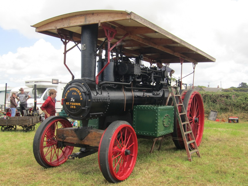Dampflokomobil Keck Gonnerman 1912/13