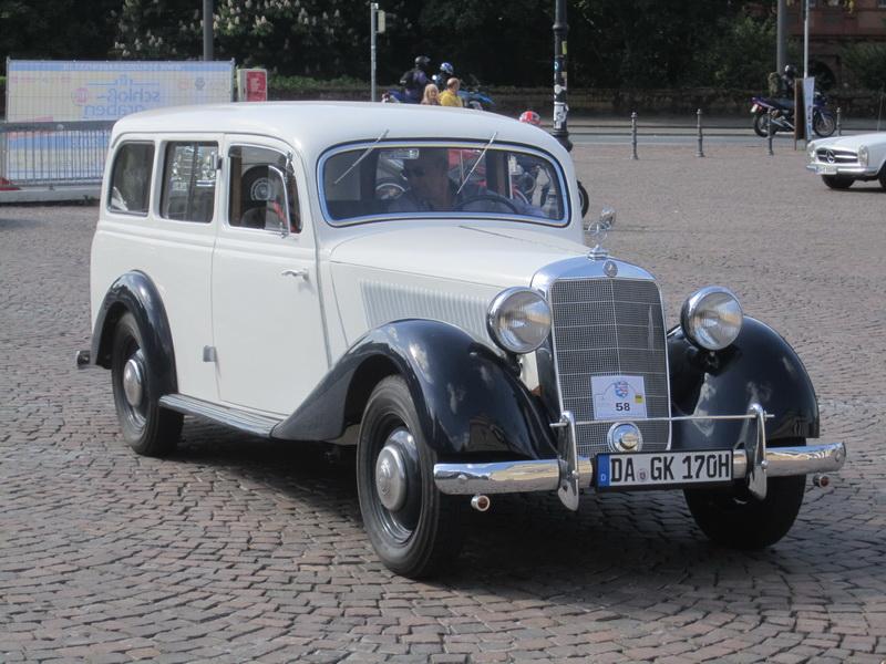 Darmstädter Oldtimer Ausfahrt 2015