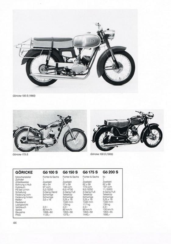 Firma Göricke Motorräder