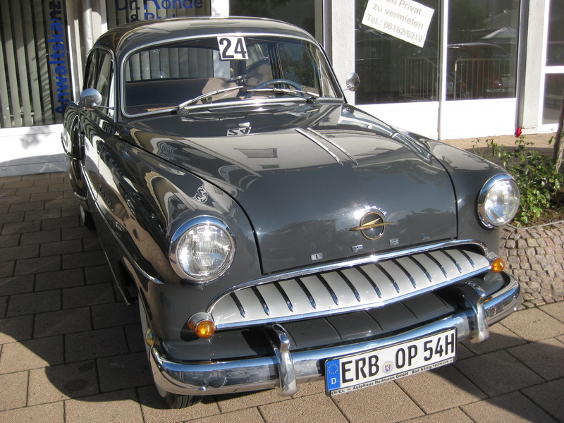 Opel Olympia Rekord (1953-1957)