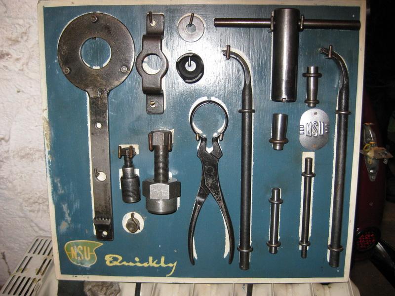 NSU Quickly Werkzeug