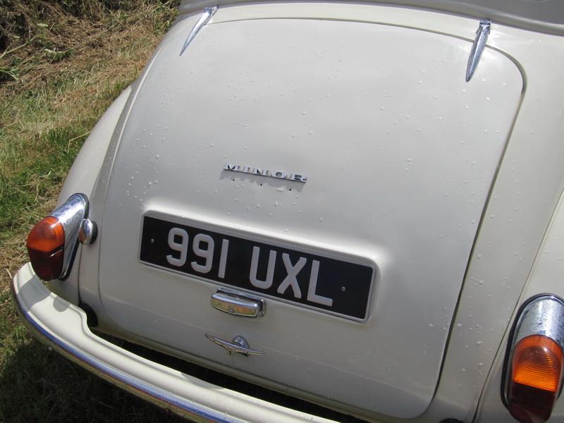 Morris Minor, 1963
