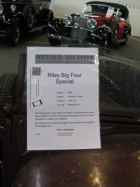 Riley Big Four Special
