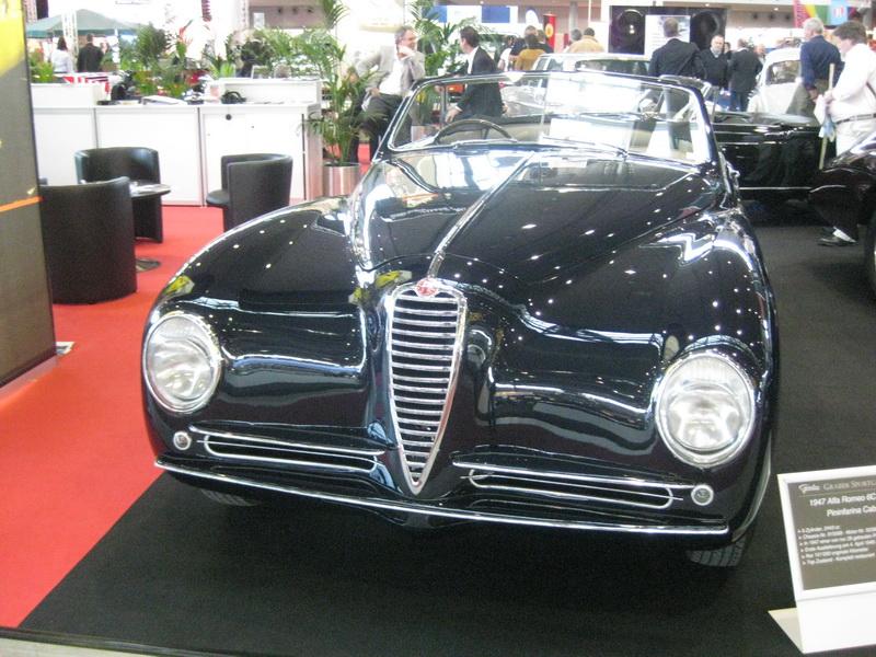 Alfa Romeo 6 C 2500 SS Pininfarina Cabriolet