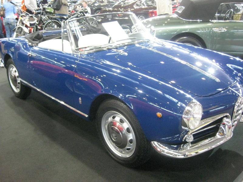 Alfa Giulietta Veloce Spider 1960