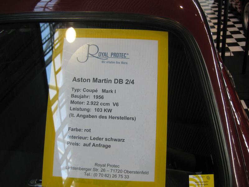 Aston Martin DB 2/4 Mark I