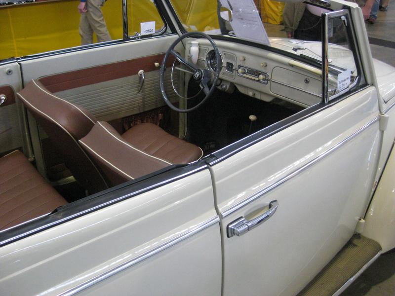 VW Käfer Kabriolet 1962