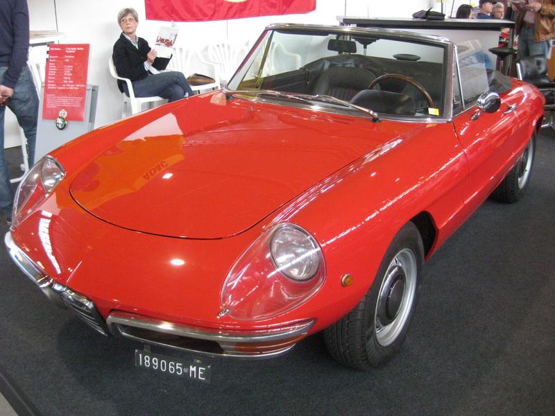 Alfa Romeo 1750 Spider Duetto Rundheck