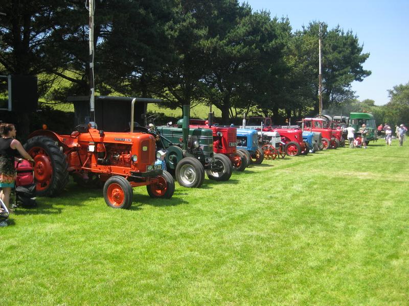 Traktoren-Parade
