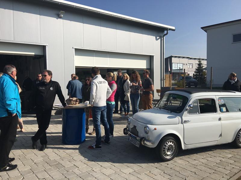 Oldtimer Rallyetraining 08. u.09.04.2017