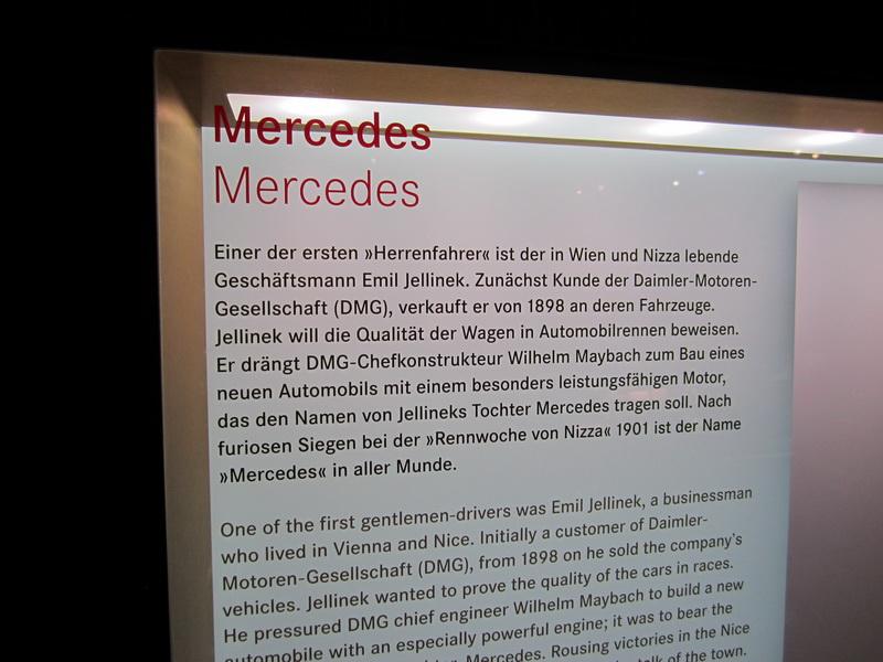 Emil Jellinek und Mercedes