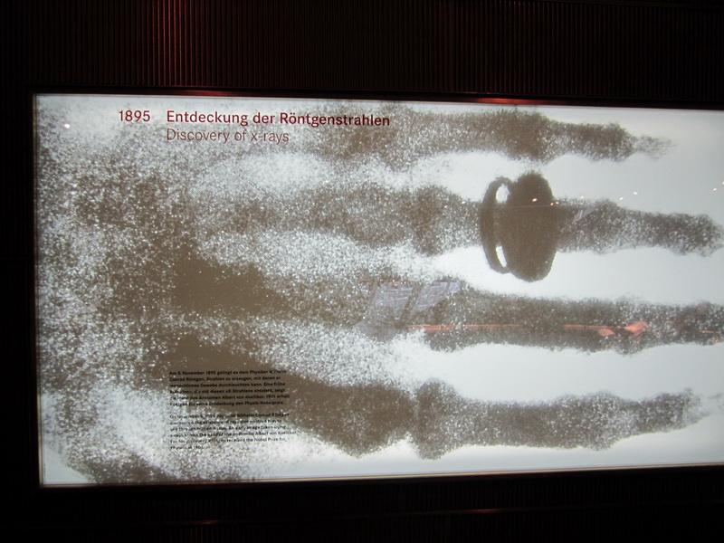 1895 Entdeckung der Röntgenstrahlen