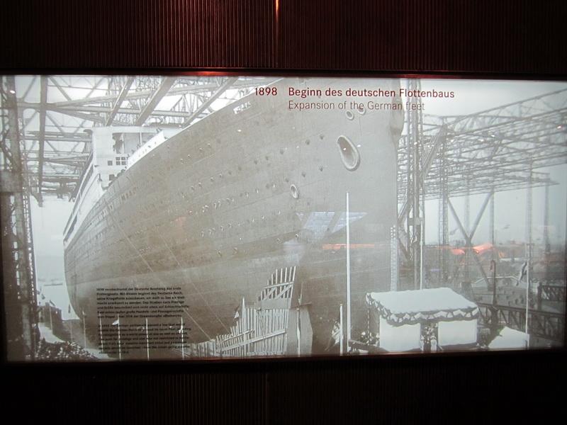1898 Beginn des Deutschen Flottenbaus