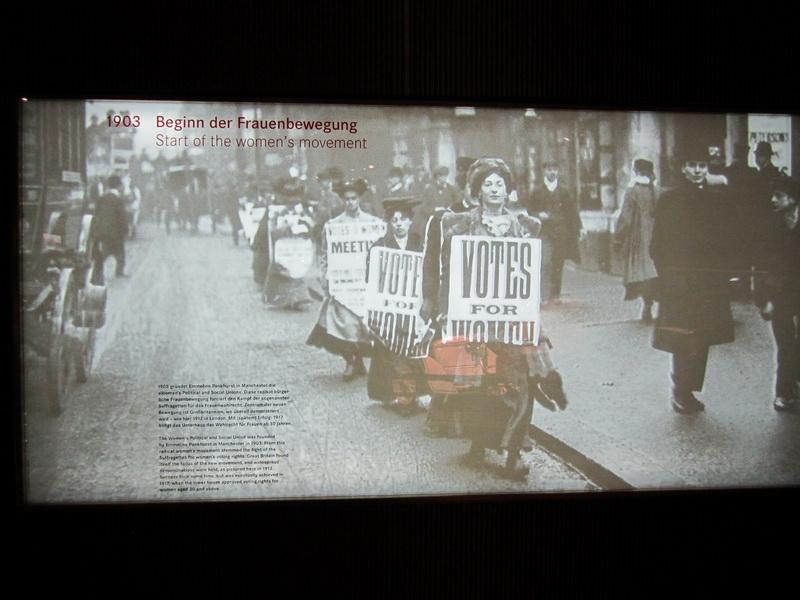 1903 Beginn der Frauenbewegung
