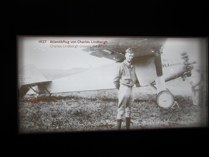 1927 Atlantikflug von Charles Lindbergh