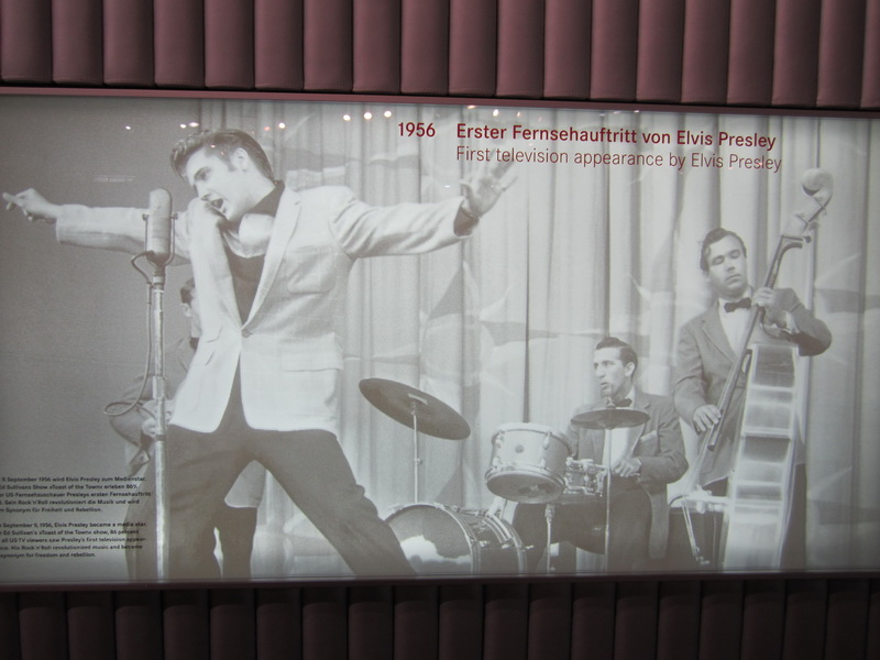 1956 Erster Fernsehauftritt Elvis Presley