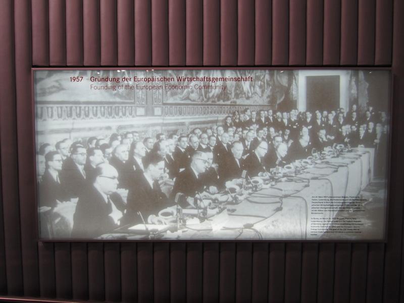 1957 Gründung der Europäischen Wirtschaftsgemeinschaft