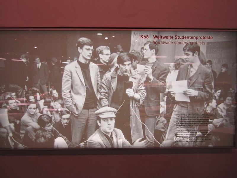 1968 Weltweite Studentenproteste
