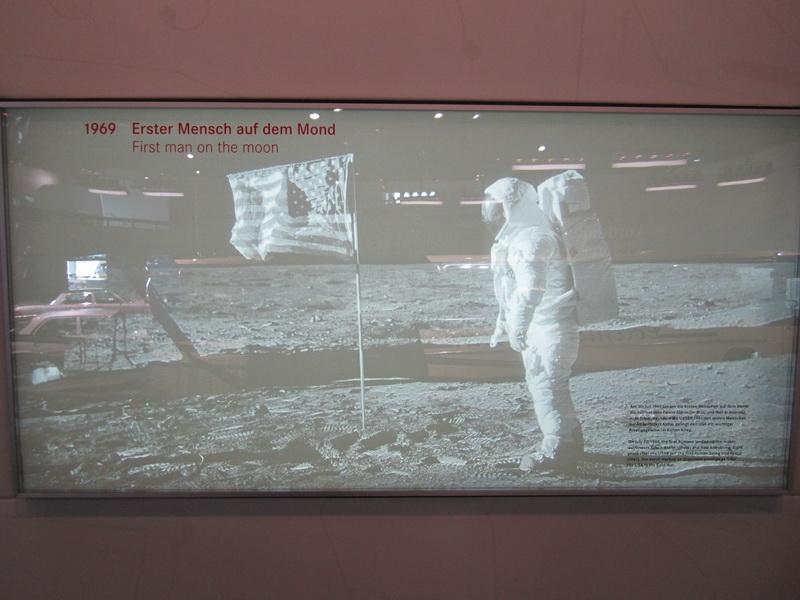 1969 Erster Mensch auf dem Mond