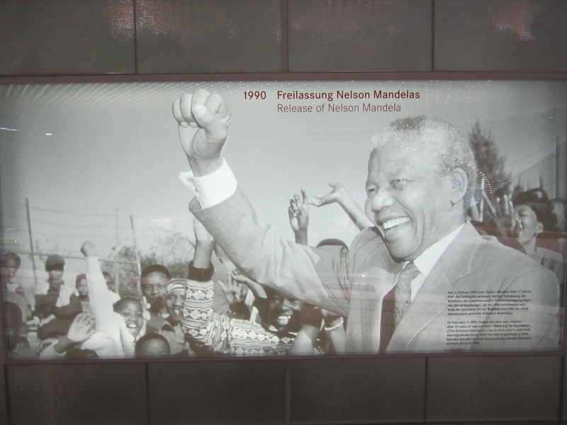 1990 Freilassung Nelson Mandelas