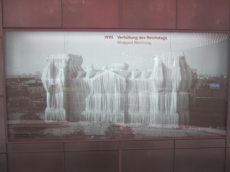 1995 Verhüllung des Reichtags