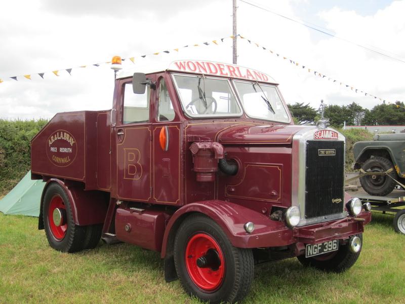 Scammell MU 15 Ballast Tractor